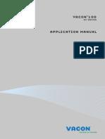 Vacon 100 Application Manual DPD00927F UK