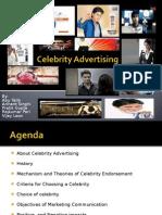 Celebrity Advertisements