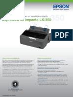Especificaciones Epson Lx350