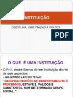 Instituição e Organização (1)