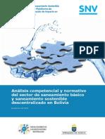 Publicación Analisis Competencial Saneamiento Basico