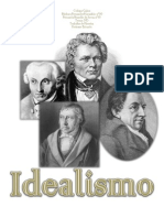 Trabalho de Filosofia - Idealismo