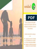 Convivencia. 6. Sinergias Familia y Escuela