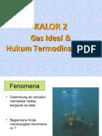 Kalor2 Gas Ideal & Hukum Termodinamika i