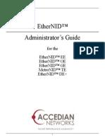 Accedian NID User Manual