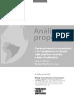 Desenvolvimento Economico e Infraestrutura No Brasil - Miguel Bruno Renaut Michel b Silva