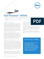 Dell Precision m4500 Spec Sheet
