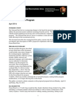 Proposed Ocean Beach San Francisco beach fire or bonfire rules, April 2014