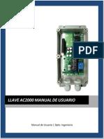 Manual Gsm Ac2000