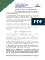 Instrução Normativa n001.2007 Postos de Abastecimento