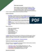 Clasificación de Las Distintas Clases de Petróleo