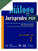 20 Diálogo Jurisprudencial Derecho Internacional de Los Derecho Humanos