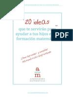 20 IDEAS Para Enseñar Matematicas