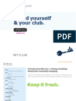 key club brand guide