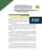 Proposal OHG 2013 Dan Yang Terbaru