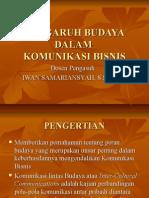 Kuliah 5 - Budaya Dan Komunikasi Bisnis