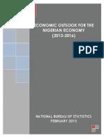 Economic Outlook 2013-2016