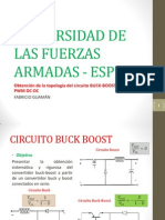 Circuito Buck Boost