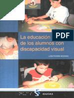 Educacion Plastica Alumnos Discap Visual