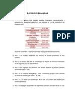 EJERCICIO FINANZAS