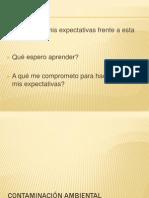 DEFINICION CONTAMINACIÓN AMBIENTAL