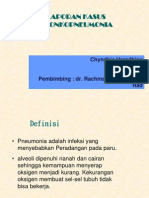 bronkopneumonia chyn radiologi