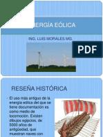 Clase 20. Energía Eólica