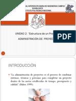Unidad 2 Administración de Proyectos
