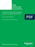 Energy Savings From Building Energy Management Systems