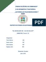 INF. Teoría Electromagnética