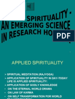 APPLIED SPIRITUALITY