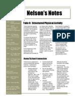 nelsons notes - november 15