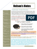 nelsons notes - march 21