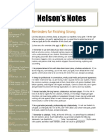 nelsons notes - april 11