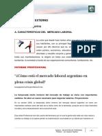 Lectura 3 - Características Del Mercado Laboral