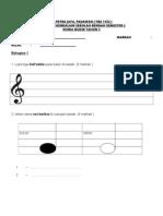 Pendidikan Muzik Tahun 3 Semester 2
