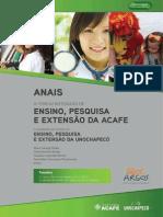 Anais Forum Acafe