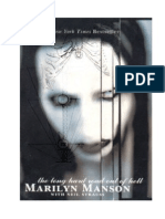 Manson Marilyn - La Larga Huida Del Infierno