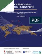 Accessing Asia Through Singapore