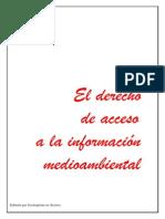 Derecho Al Acceso de Informacion Medioambiental