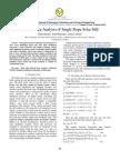Performance Analysis of Single Slope Solar Still