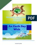 An Earth Day Wish