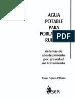 Agua Potable Para Poblaciones Rurales Sistemas de Abastecim Libro Compl