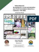 Informe Final de Sistematización Chortí 1994-2005