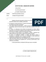 Informe Nº 014