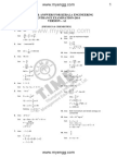 KEAM 2014 Physics & Chemistry Question Paper with Solutions