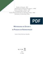 Metodologia de Estudo e de Pesquisa Em Administracao