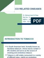 Ali Tobacco NCD Presentation 9 Oct