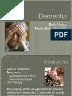 dementia presentation