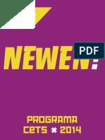 Programa Lista A - NEWEN! CETS 2014
